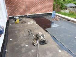 Plat dak - voor